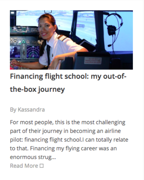 Financing flight school: my out-of-the-box journey